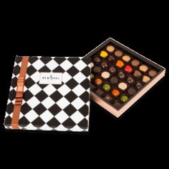 Hediyelik Karışık Pralin Çikolata Kutusu Büyük Boy