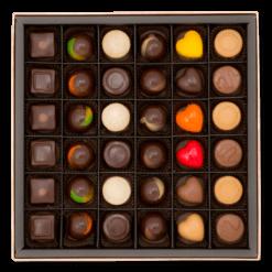 büyük pralin çikolata kutusu içerik